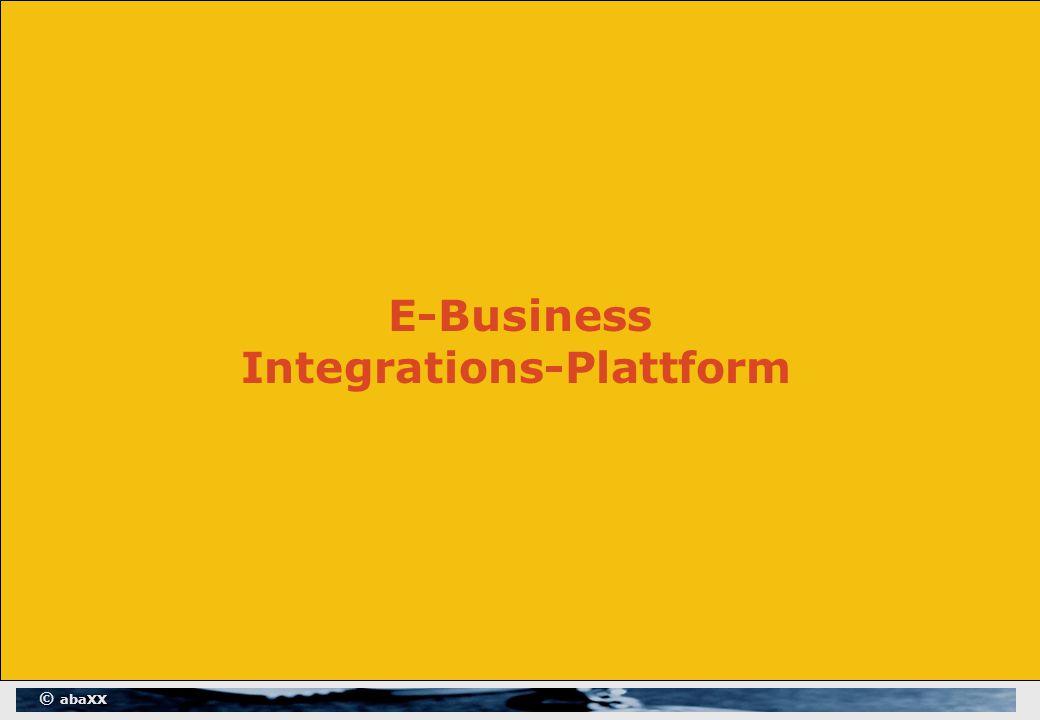 © abaXX E-Business Integrations-Plattform