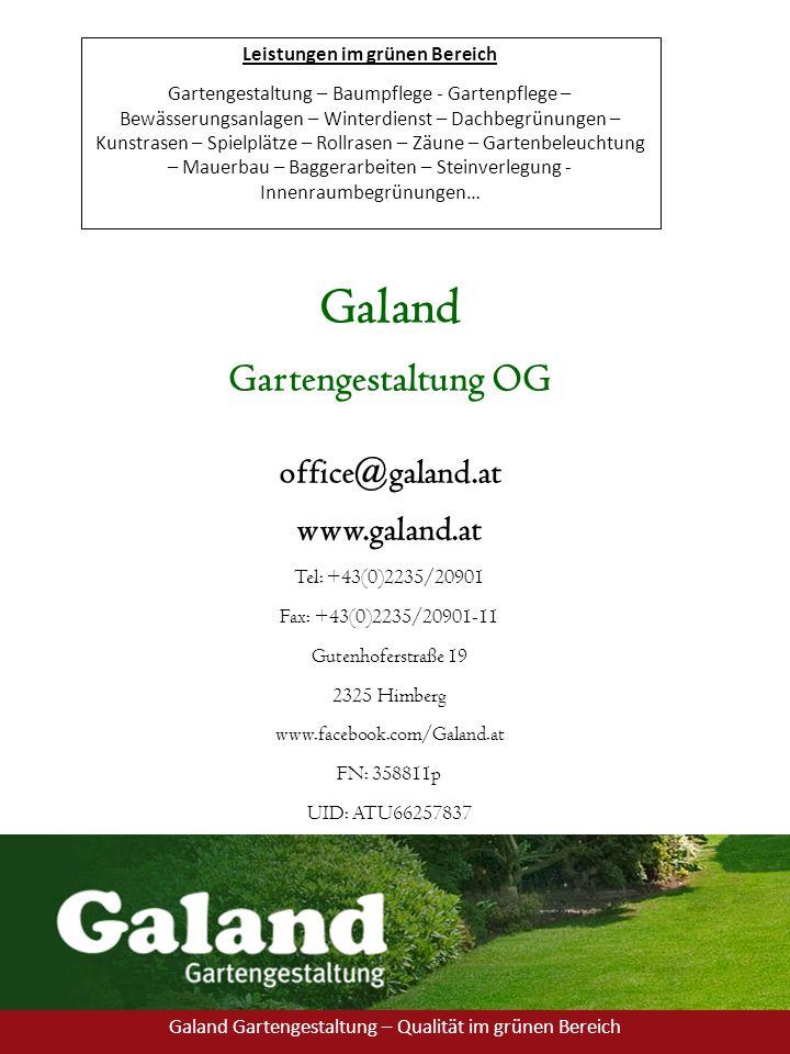 Leistungen im grünen Bereich Gartengestaltung – Baumpflege - Gartenpflege – Bewässerungsanlagen – Winterdienst – Dachbegrünungen – Kunstrasen – Spielp