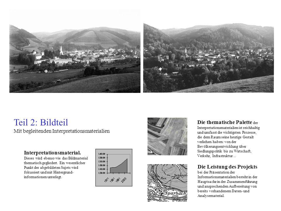Teil 2: Bildteil Mit begleitenden Interpretationsmaterialien Interpretationsmaterial.