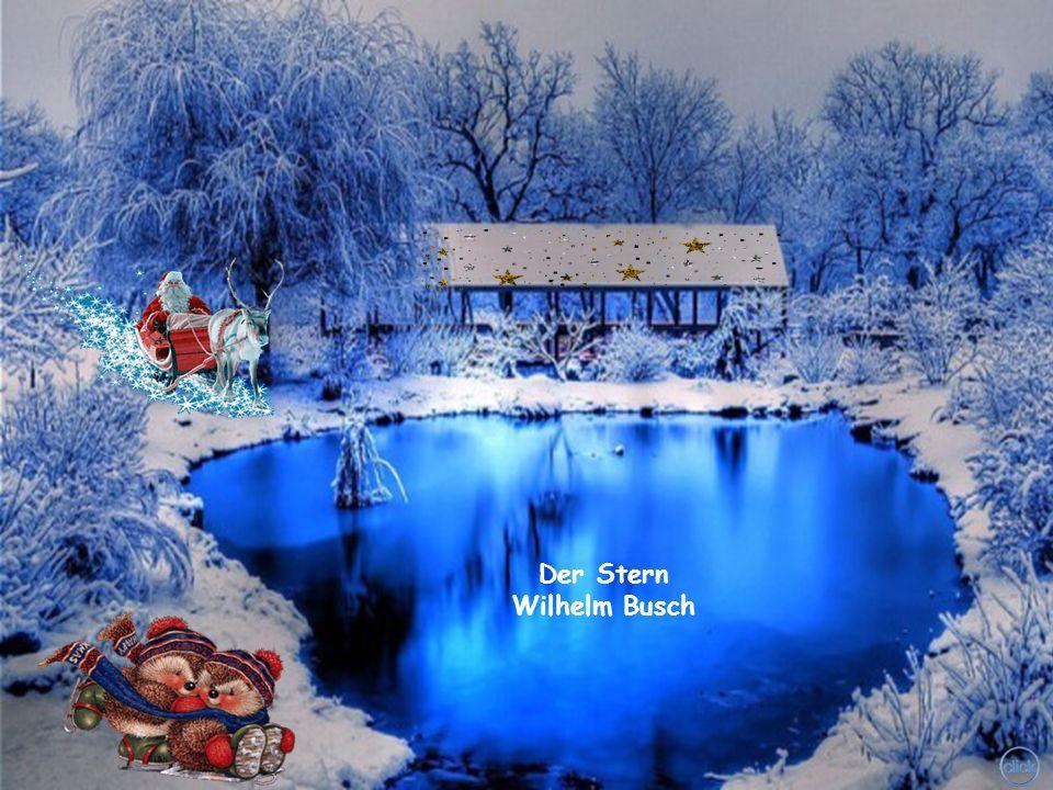 Und so leuchtet die Welt langsam der Weihnacht entgegen. Und der in Händen sie hält, weiss um den Segen!