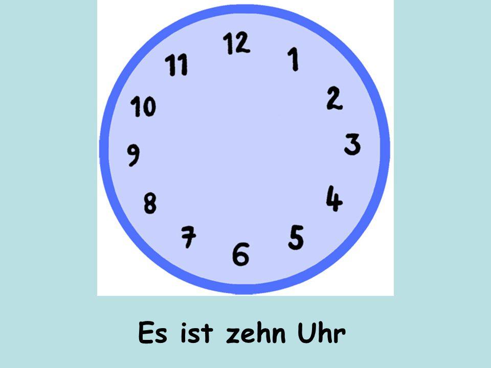 Es ist drei Uhr