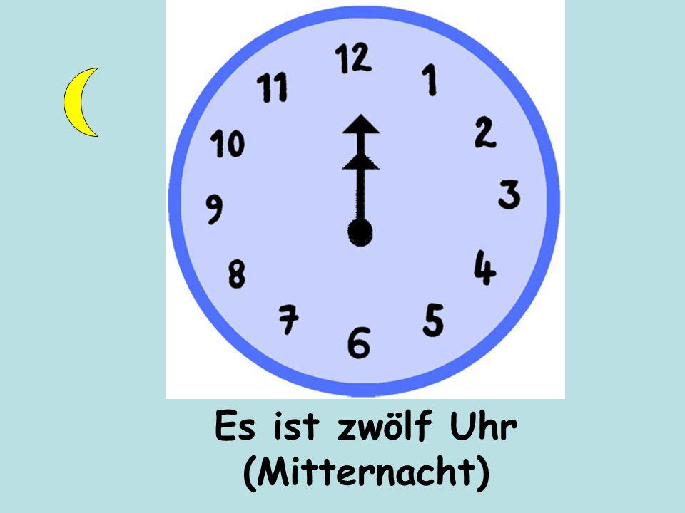 Es ist zwölf Uhr (Mittag)