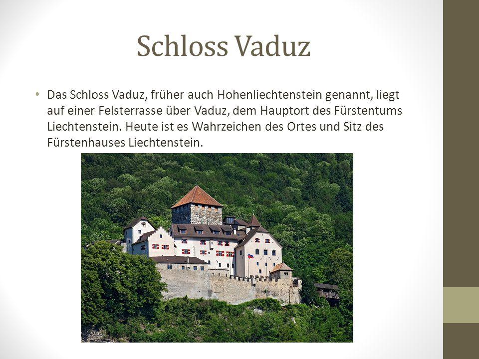 Vaduz ist die Hauptstadt von Fürstentums Liechtenstein! Die Stadt ist Sitz der Staatsregierung und des Erzbistums Vaduz. Der Name Vaduz hat seinen Urs