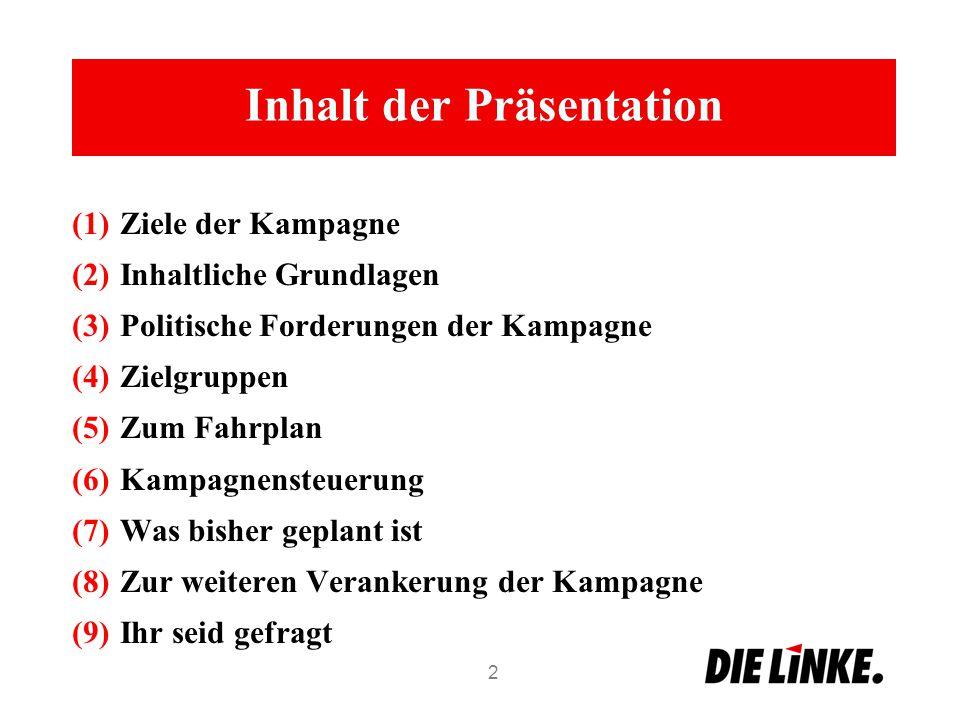 Inhaltliche Grundlagen 23 Kinderarmut Quelle: HBS, Böckler Impuls, 01/2014
