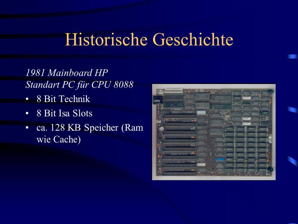 Historische Geschichte 8 Bit Technik 8 Bit Isa Slots ca.