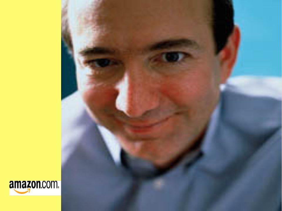 Jeffrey Preston Bezos - Gründer von Amazon Größter Onlinehändler Geboren am 12.