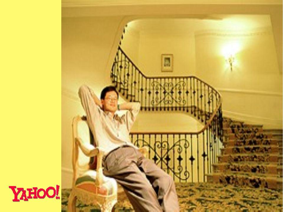 Bekannteste Suchmaschine der Welt Jerry Yang - Mitgründer von Yahoo.