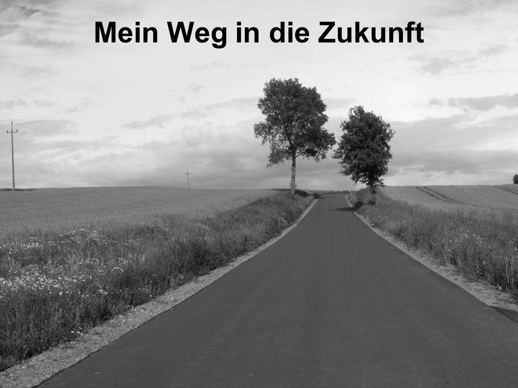 Mein Weg in die Zukunft