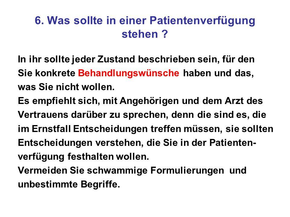 Vollmachten und Verfügungen A.Vorsorge-Vollmacht mit B.