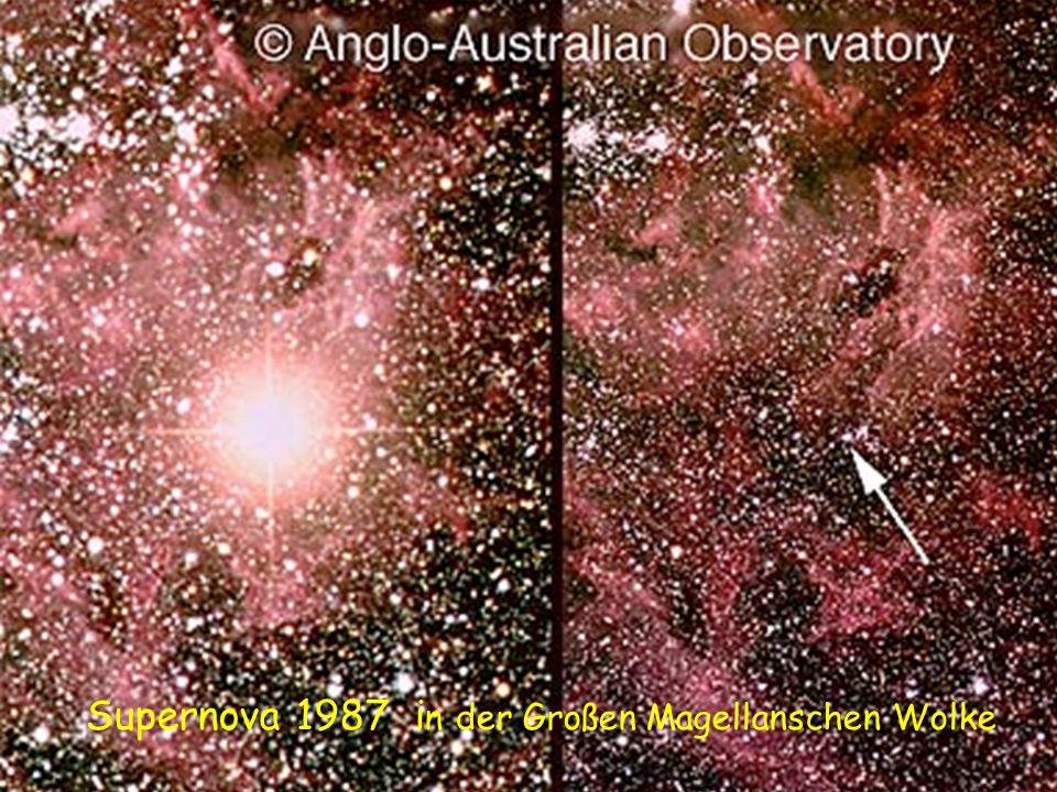 Supernova 1987 i n der Großen Magellanschen Wolke