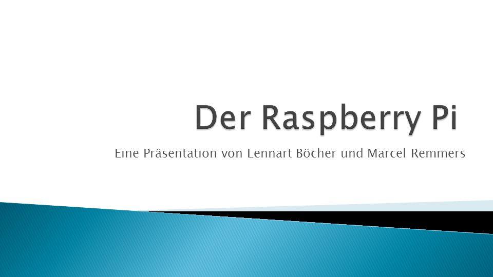 Eine Präsentation von Lennart Böcher und Marcel Remmers