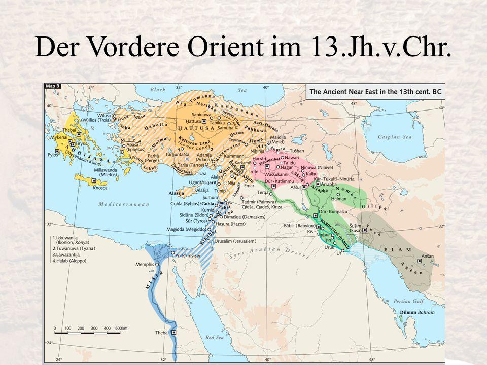 Der Vordere Orient im 13.Jh.v.Chr.