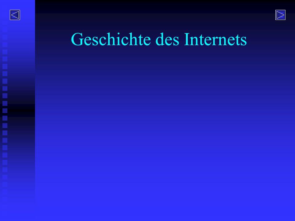 Wie entstand das Internet.
