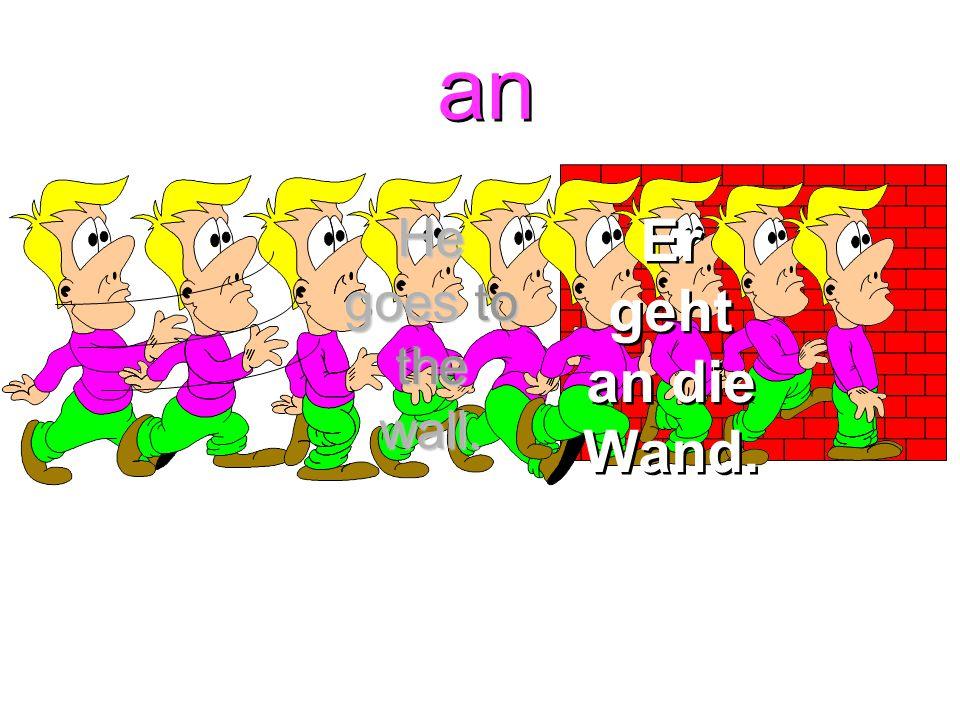 an + dem = am an + dem = am Am Fenster Am Tisch