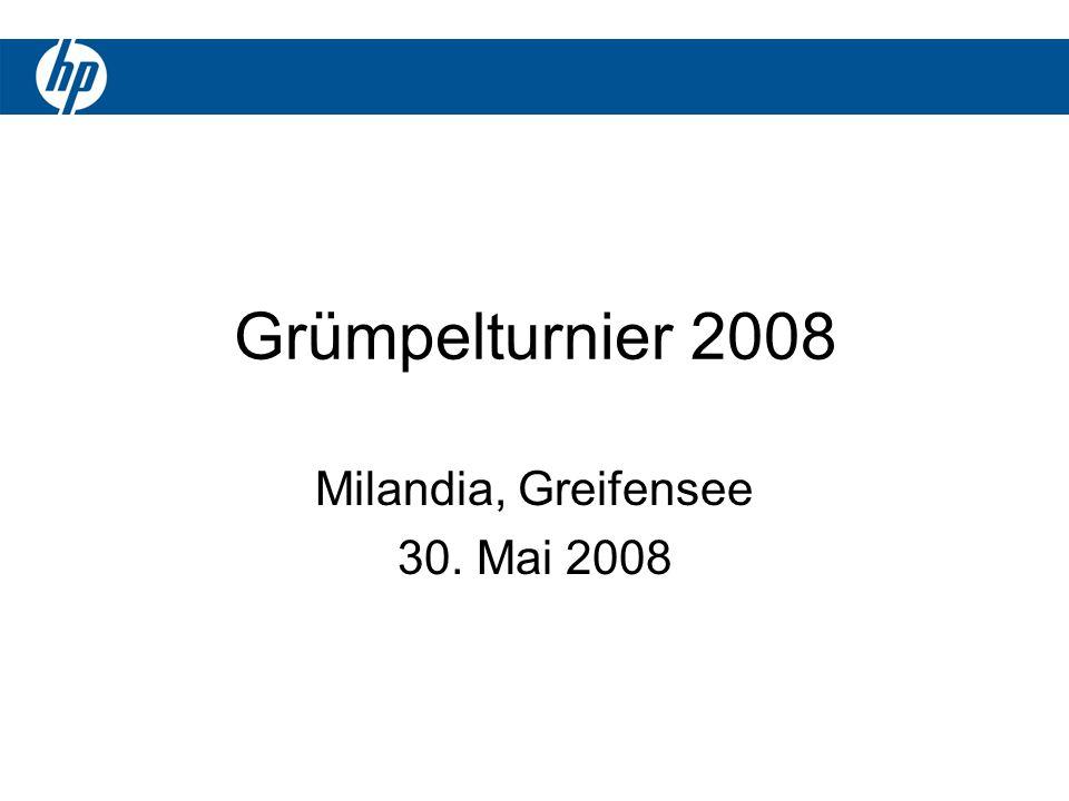 Grümpelturnier 2008 Milandia, Greifensee 30. Mai 2008
