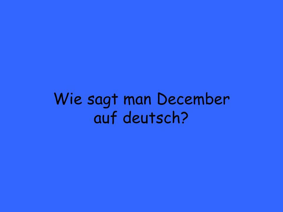Was ist Januar
