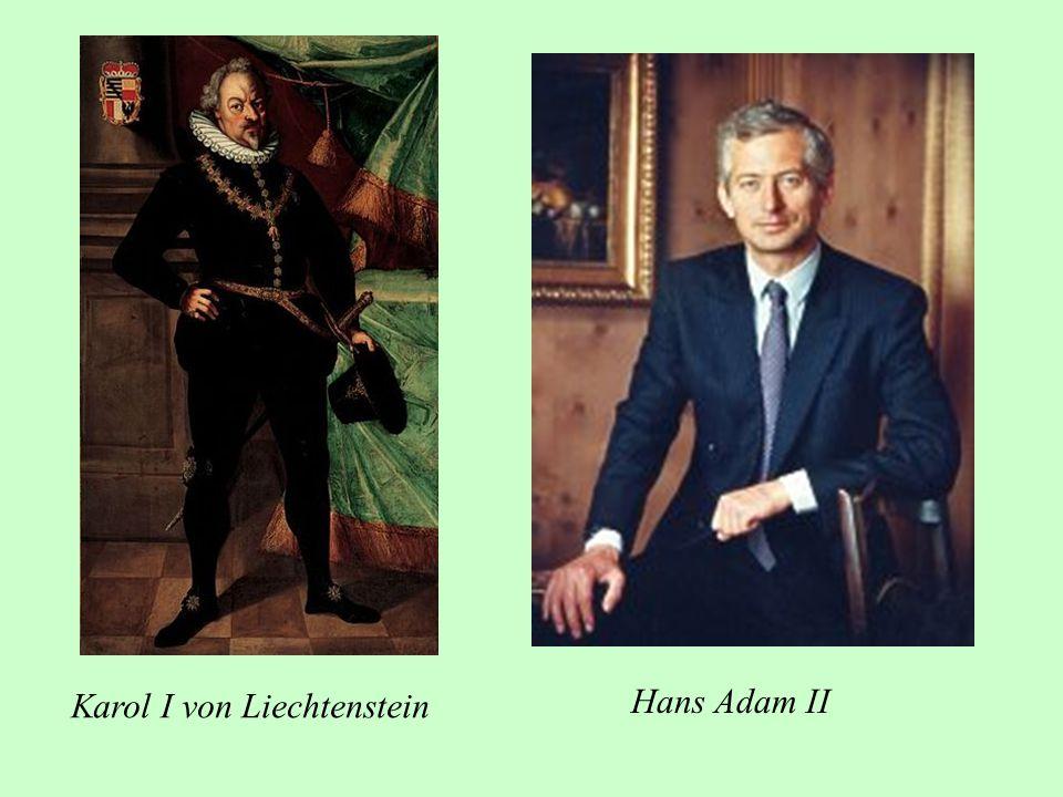 Karol I von Liechtenstein Hans Adam II
