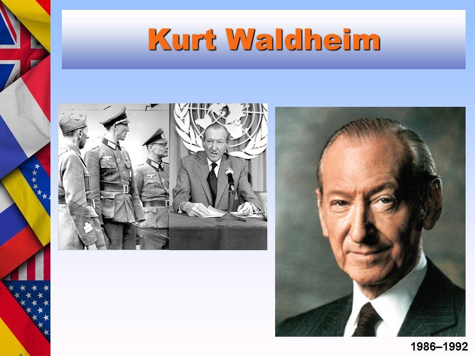 Kurt Waldheim 1986–1992