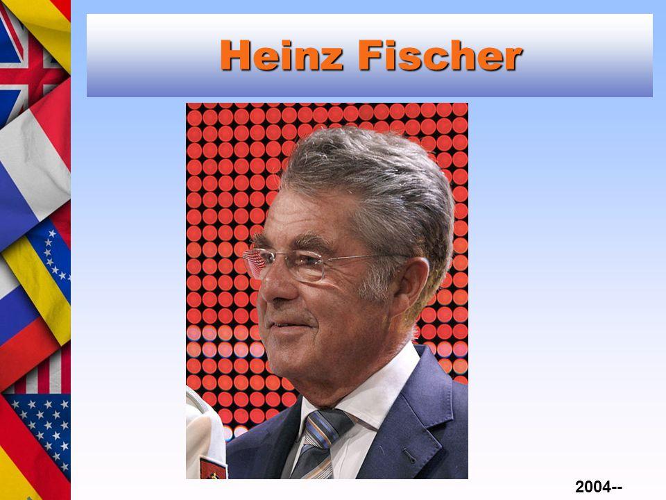 Heinz Fischer 2004--