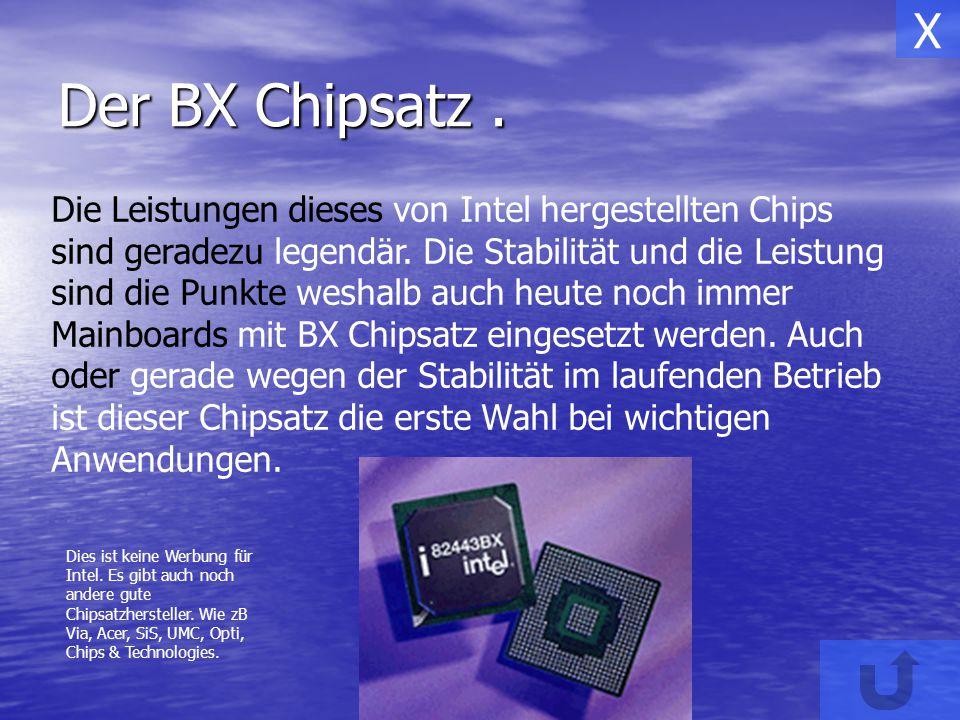 Der i810-Chipsatz Mit dem i810-Chipsatz verabschiedet sich Intel von der alten Bridge - Architektur.