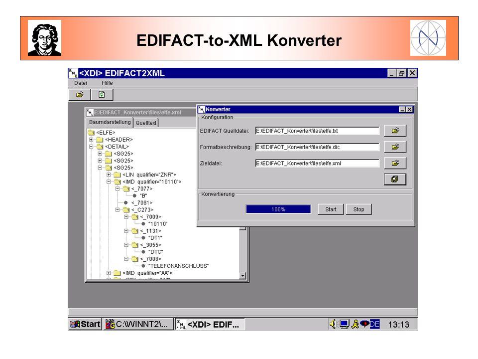 EDIFACT-to-XML Konverter