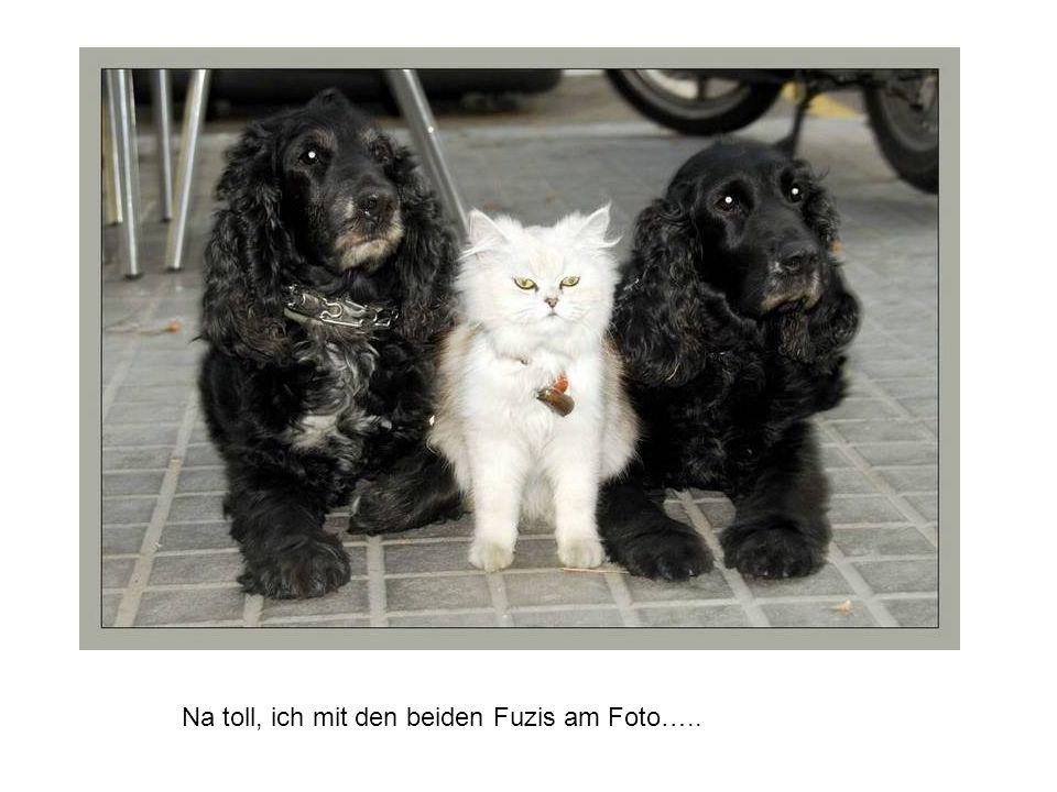 Na toll, ich mit den beiden Fuzis am Foto…..