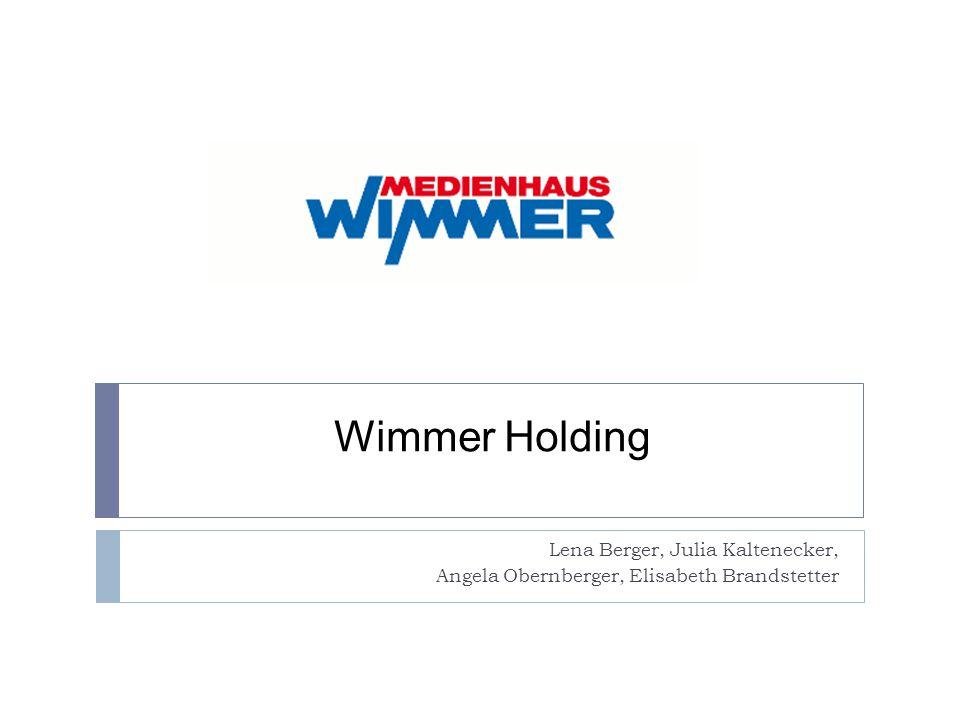 Wimmer Holding Lena Berger, Julia Kaltenecker, Angela Obernberger, Elisabeth Brandstetter