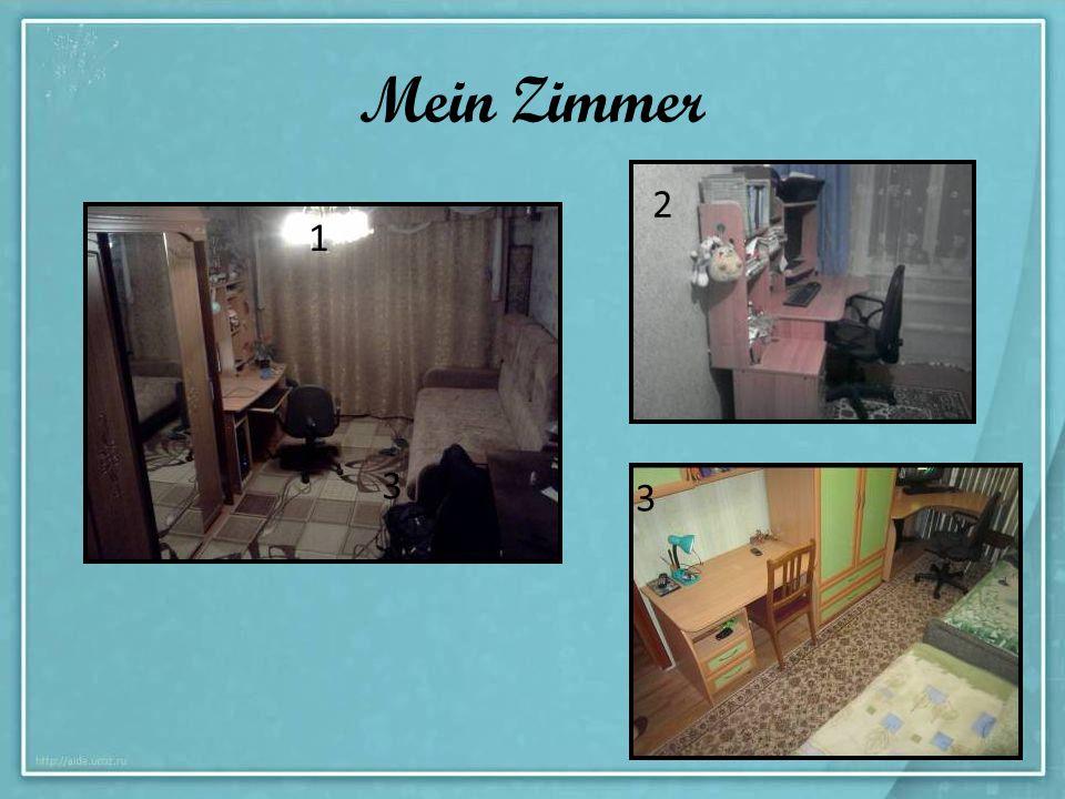 Mein Zimmer 1 2 3 3