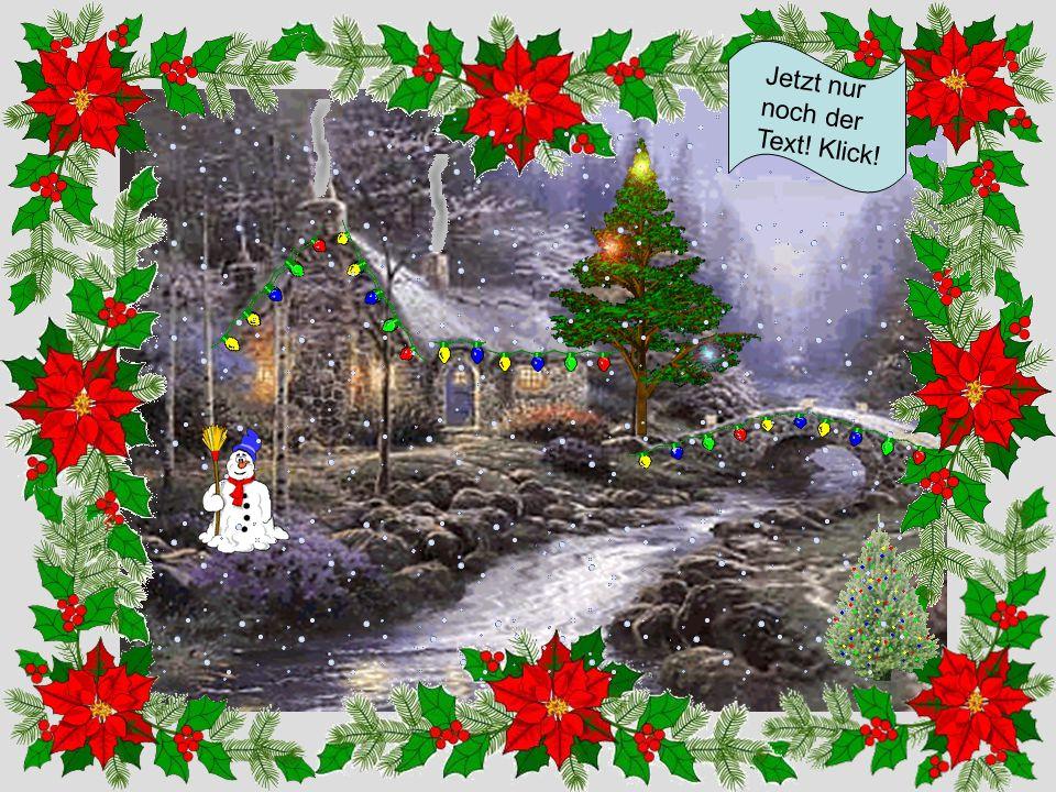 Weihnachten ohne Schnee Hier klicken!