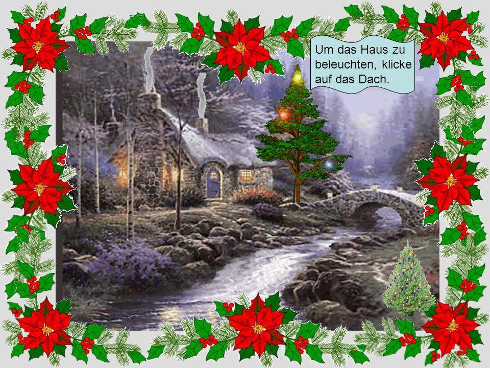 Klick auf den Baum, dann wird er ein Weihnachtsbaum !