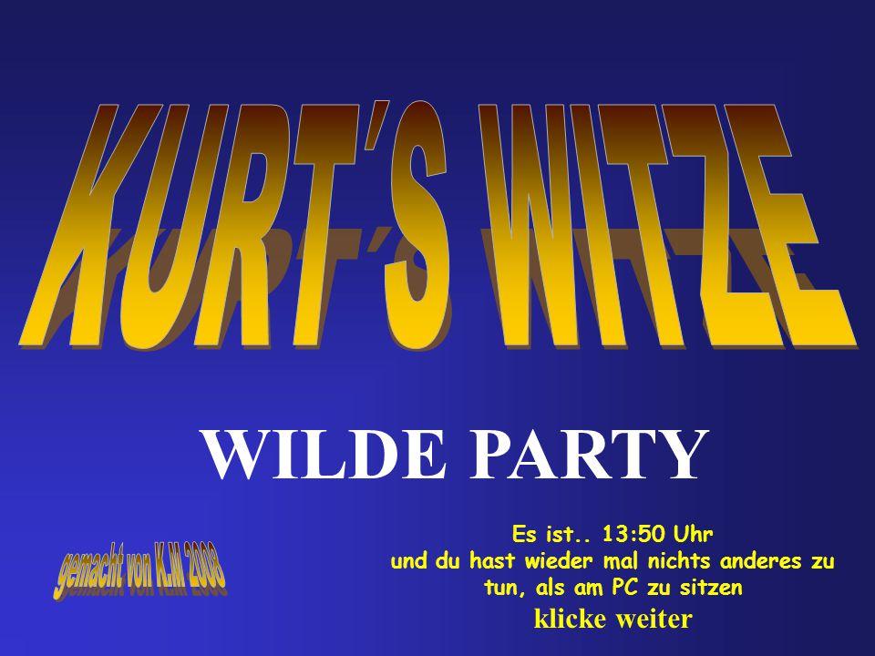 WILDE PARTY Es ist..