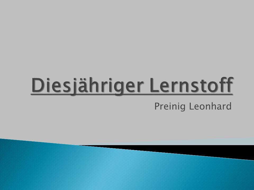 Preinig Leonhard