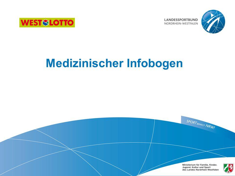Medizinischer Infobogen 