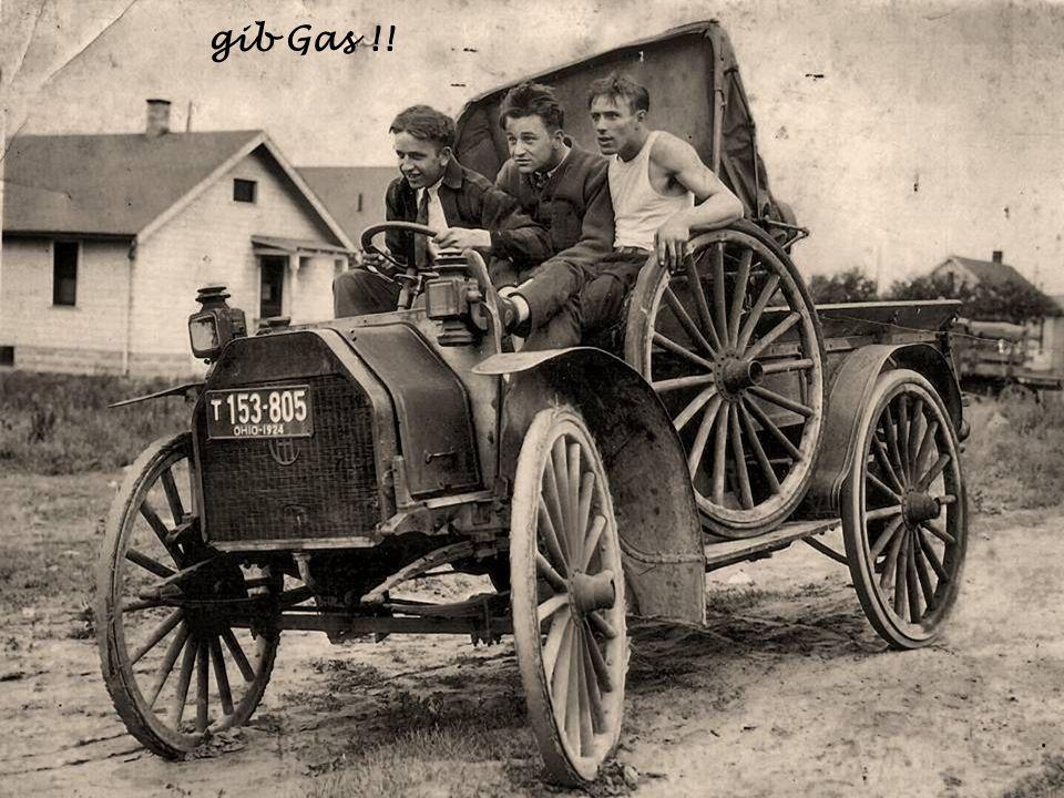 Unterwegs um 1900