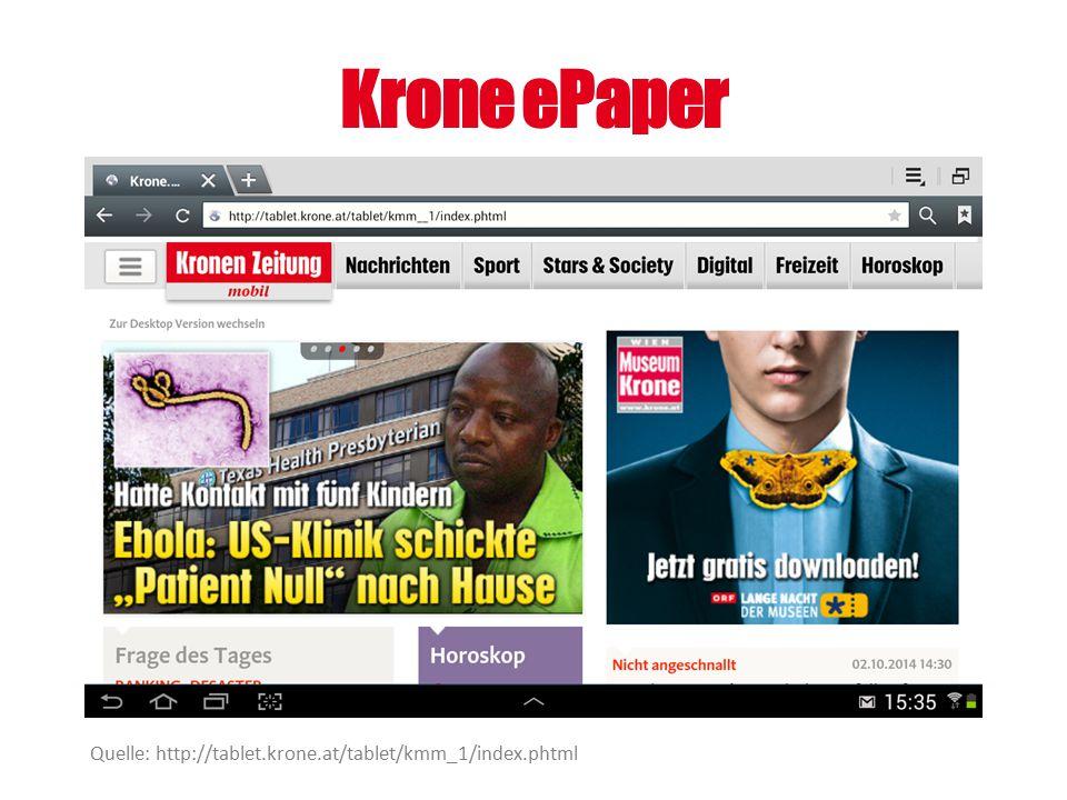Krone ePaper Quelle: http://tablet.krone.at/tablet/kmm_1/index.phtml