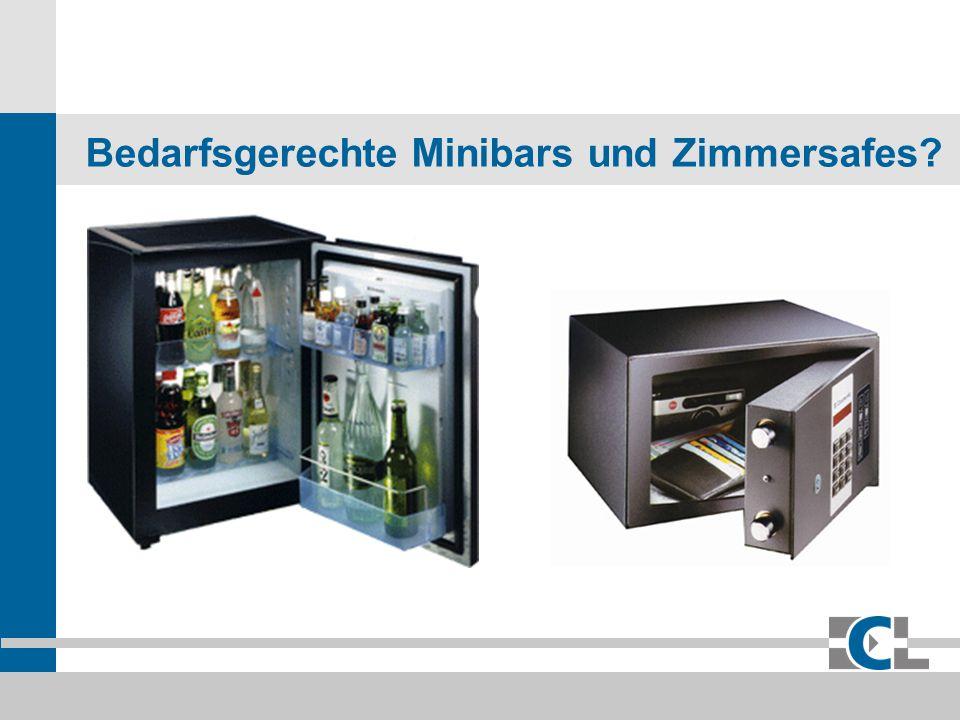 ECL Eura Consumer Leasing GmbH & Co. KG Bedarfsgerechte Minibars und Zimmersafes?