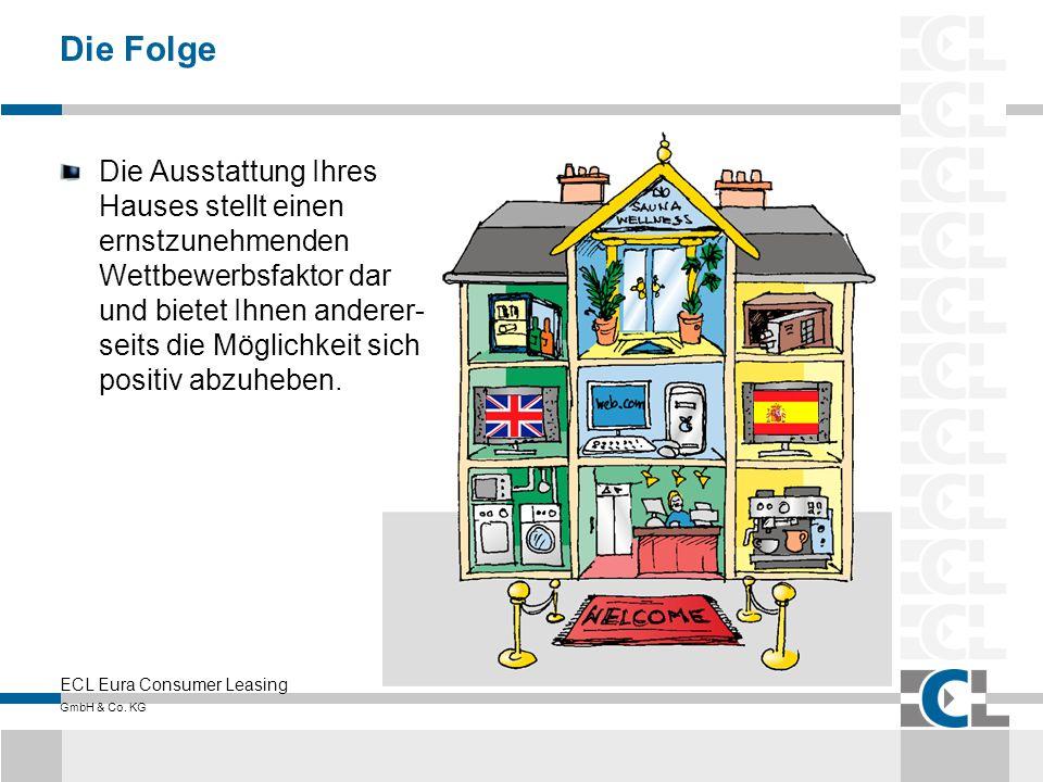 ECL Eura Consumer Leasing GmbH & Co. KG Die Folge Die Ausstattung Ihres Hauses stellt einen ernstzunehmenden Wettbewerbsfaktor dar und bietet Ihnen an