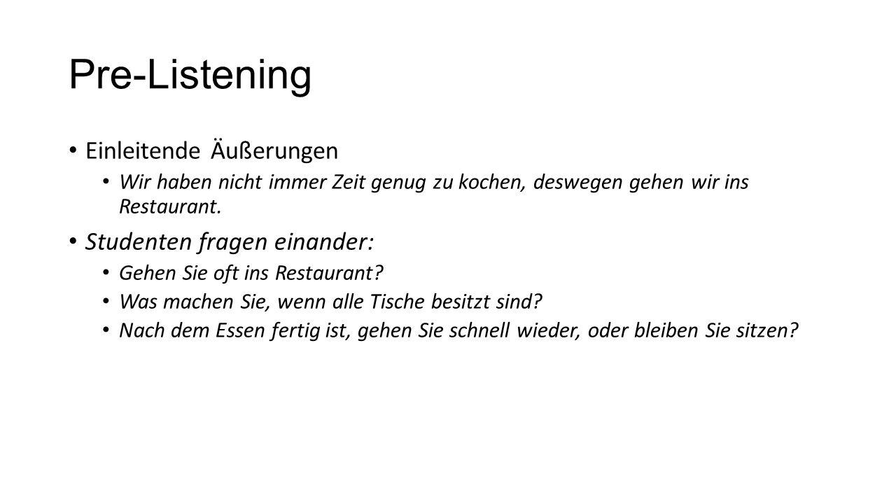 """Listening – Deutschland oder Amerika.Markieren Sie """"D für Deutschland oder """"USA für Amerika."""