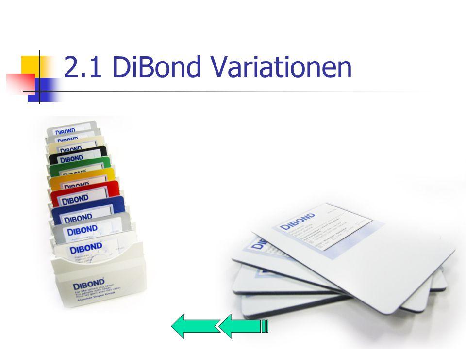 2.1 DiBond Variationen