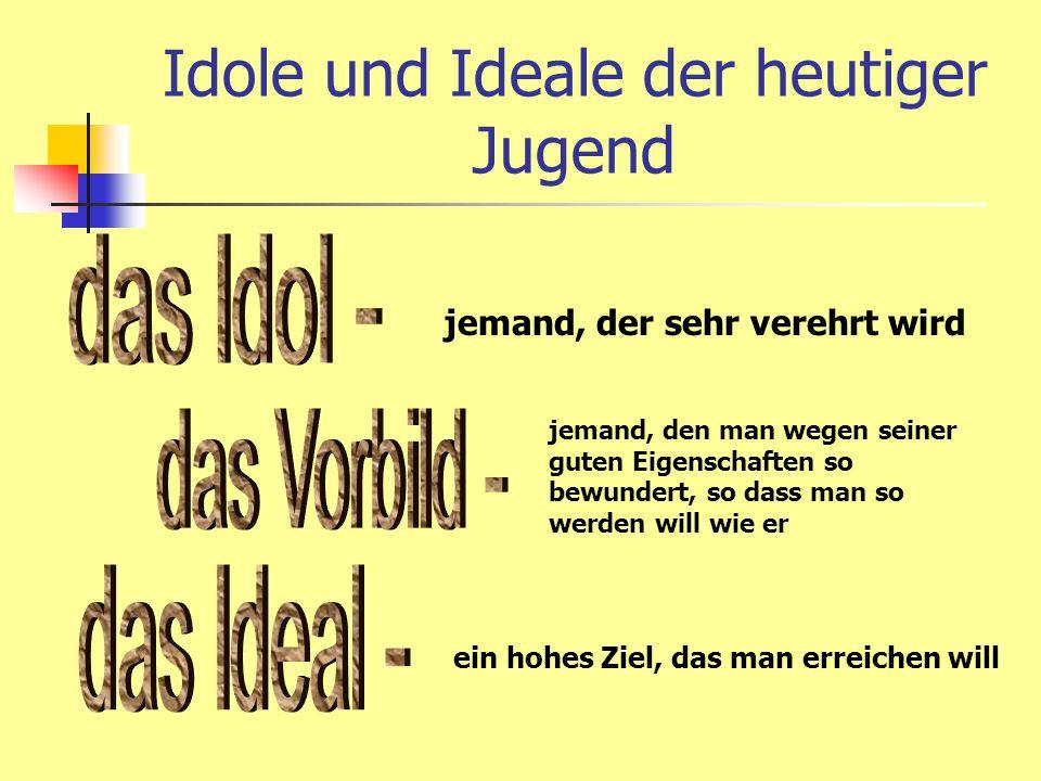 Idole und Ideale der heutiger Jugend Sie ist eine attraktiv_ und schon_ Sangerin und Schauspielerin.