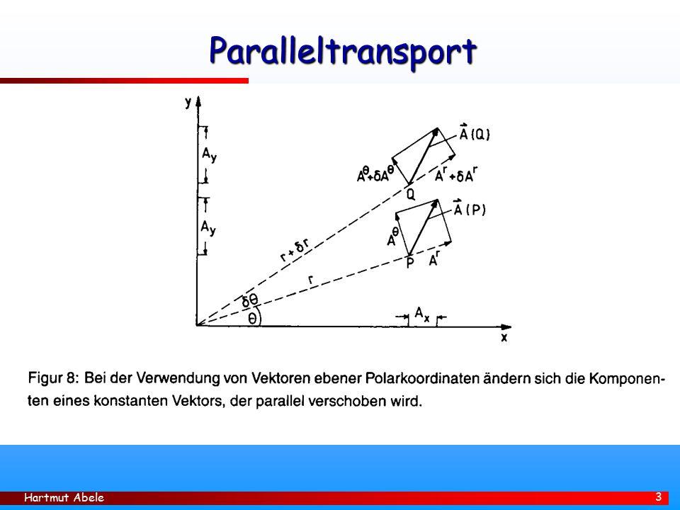 Hartmut Abele 3 Paralleltransport