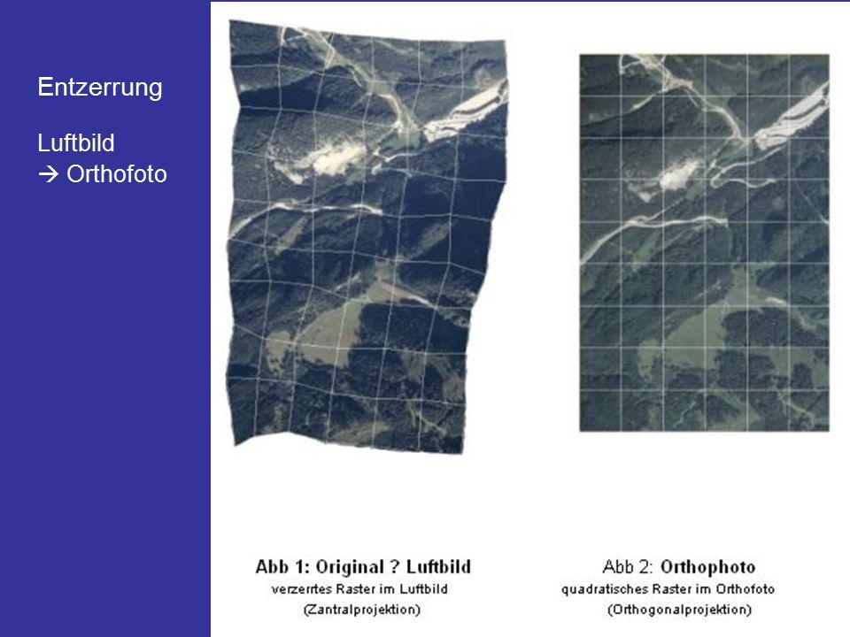Luftbild  Orthofoto