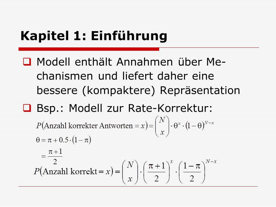 Kapitel 1: Einführung  Semantischer Aspekt:  Inhaltliche Interpretation des Modells.