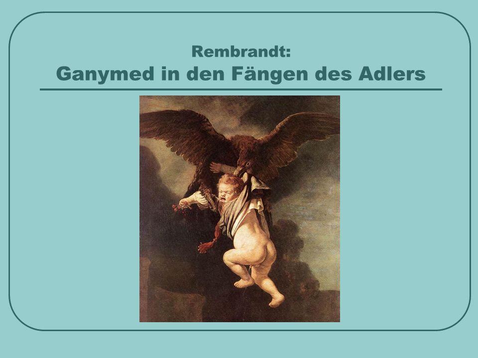 Rembrandt: Ganymed in den Fängen des Adlers