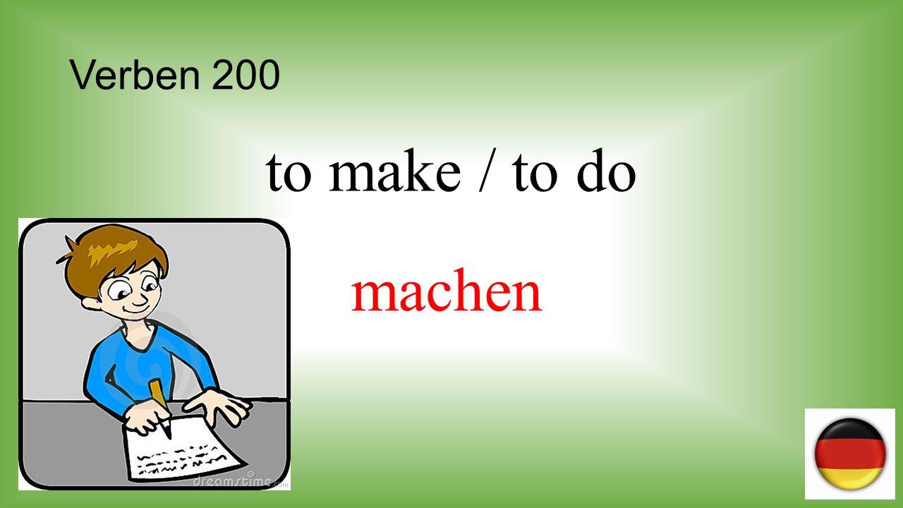 Verben 300 to know s.t. kennen