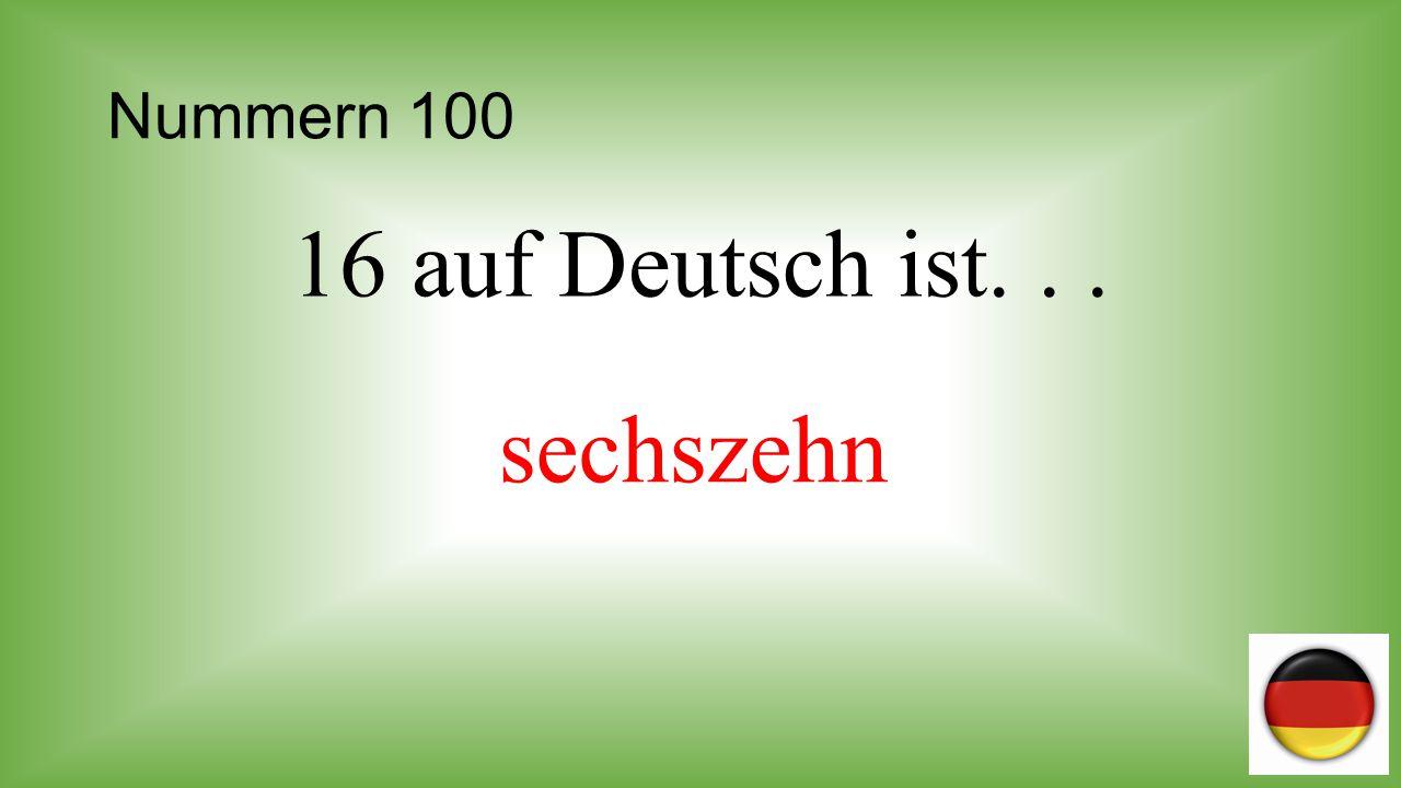Nummern 200 Sieben plus drei ist... zehn (10)