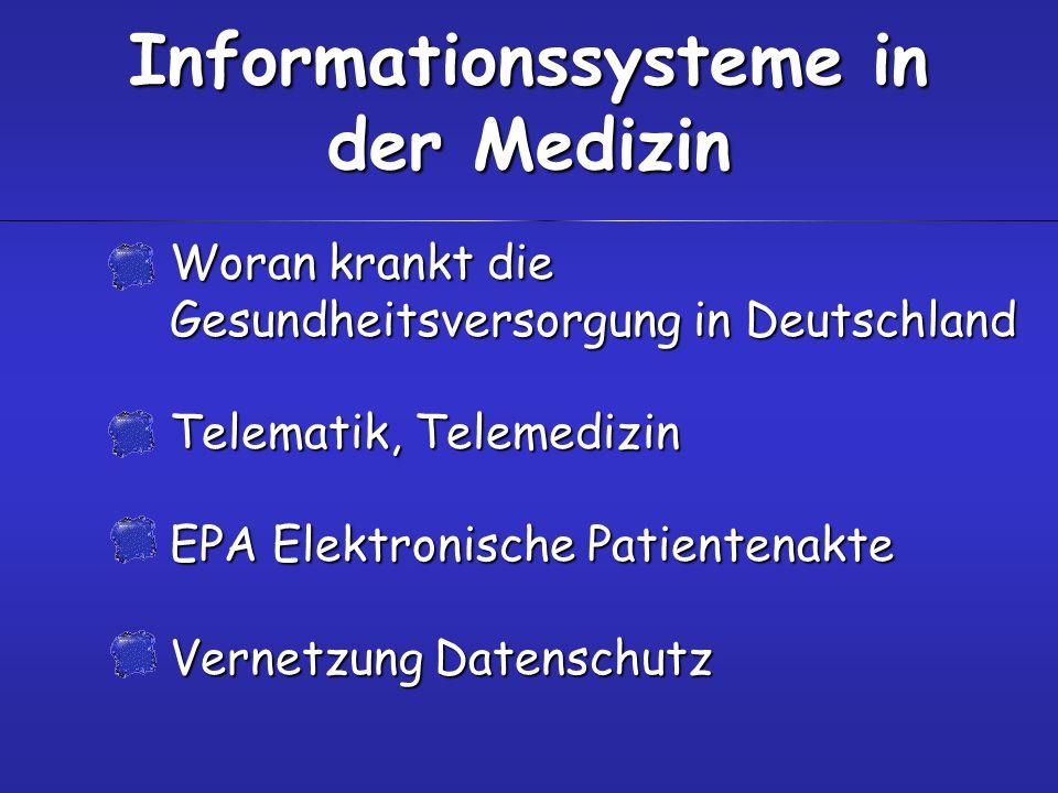 Protokolle zum Daten- austausch in der Medizin HL7DICOMEDIFACTxDTXML