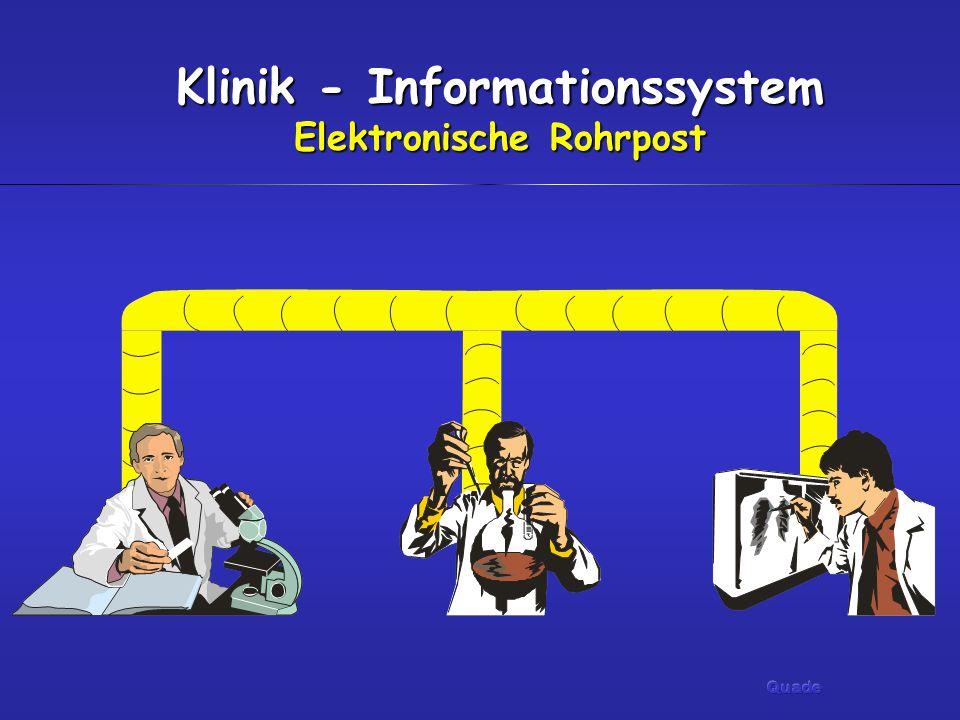 Klinik - Informationssystem Elektronische Rohrpost