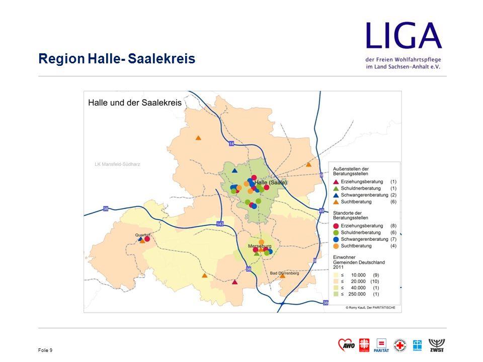 Folie 9 Region Halle- Saalekreis