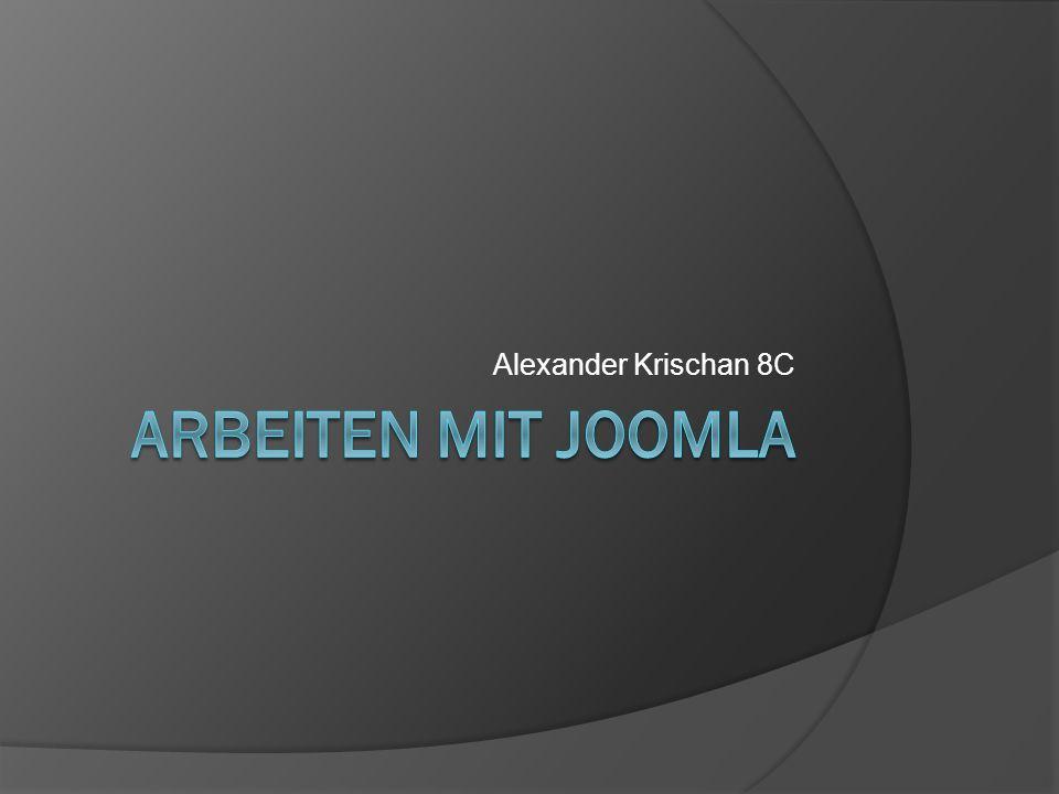 Alexander Krischan 8C